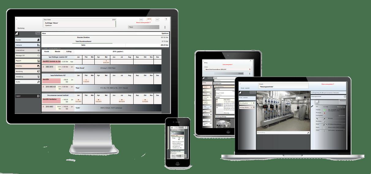 interaktives Organisationssystem